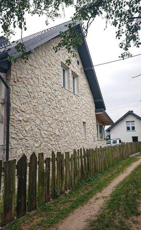 Ściana północna z opoki