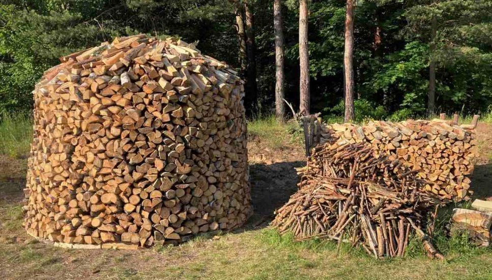 Stog drewna